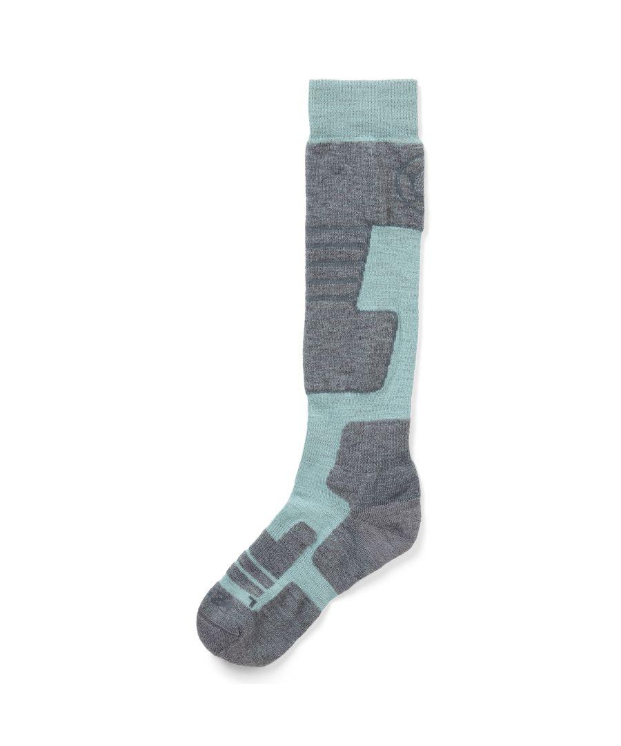 Image for Scheffau Merino Ski Socks Mint Blue