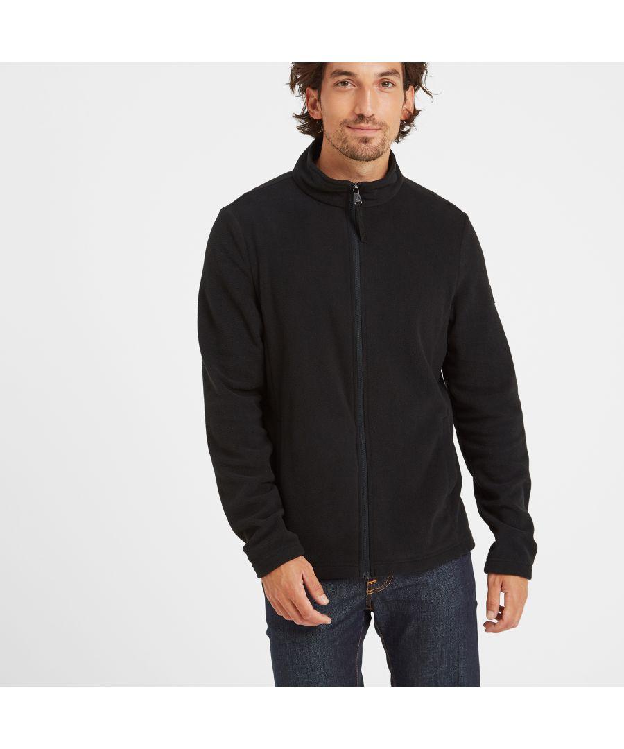 Image for Shire Mens Fleece Jacket Black