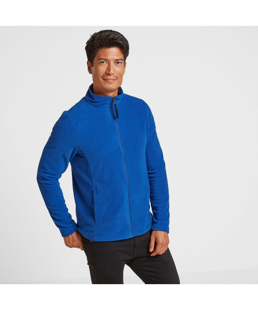 Image for Shire Mens Fleece Jacket Royal Blue