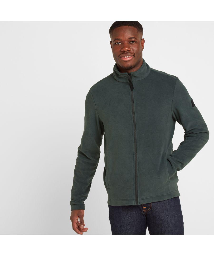Image for Shire Mens Fleece Jacket Pine Green