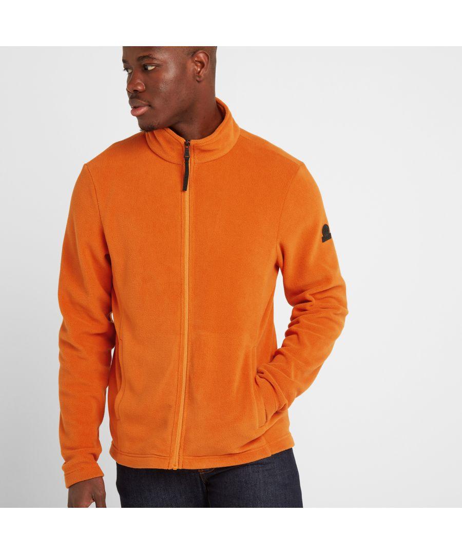 Image for Shire Mens Fleece Jacket Satsuma