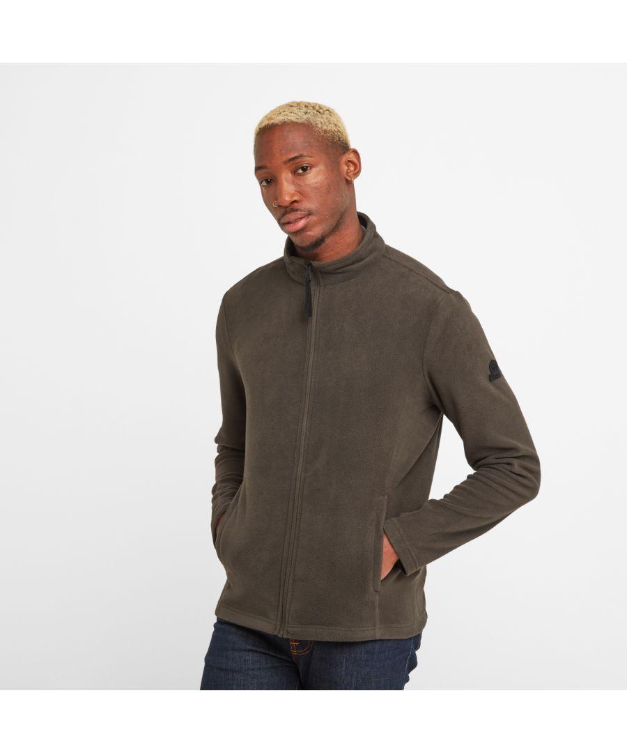 Image for Shire Mens Fleece Jacket Dark Khaki