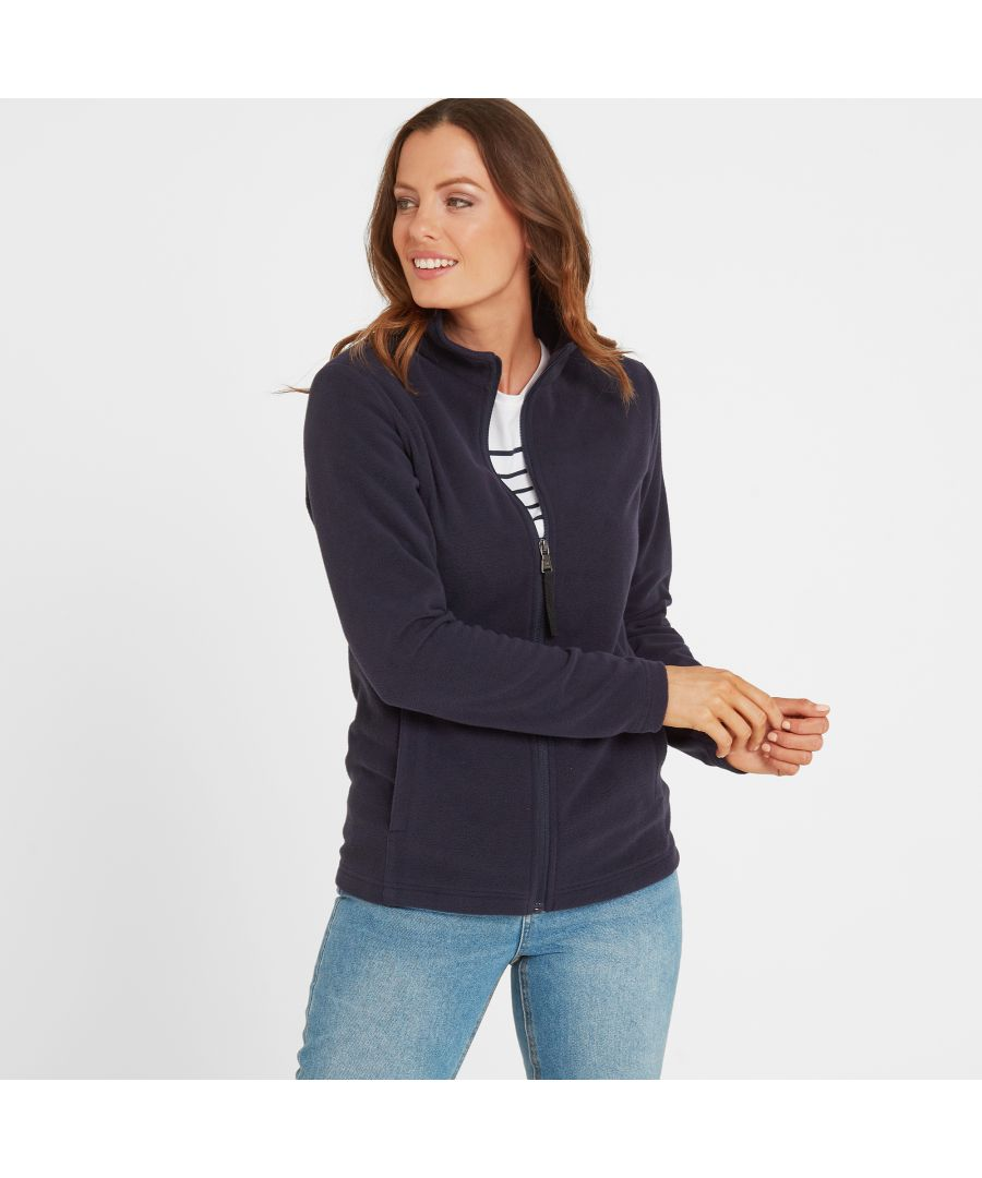 Image for Shire Womens Fleece Jacket Navy