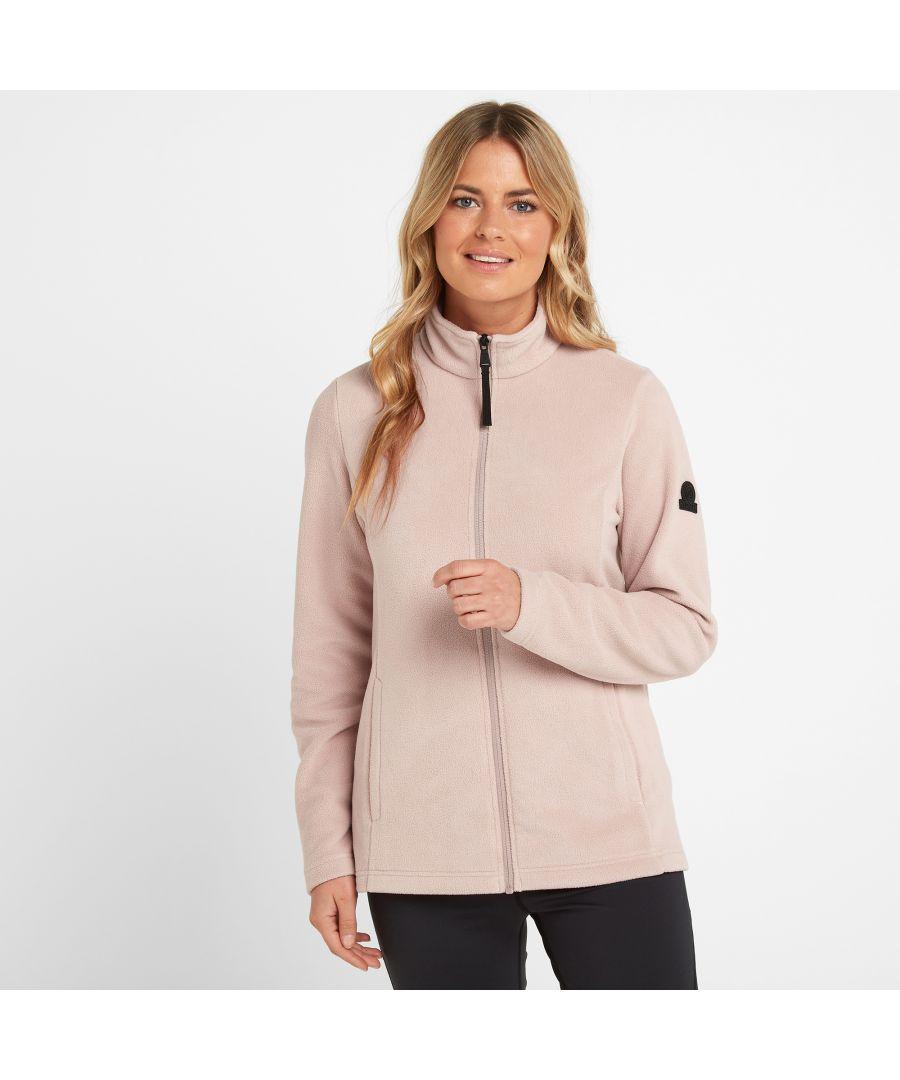 Image for Shire Womens Fleece Jacket Dusky Pink
