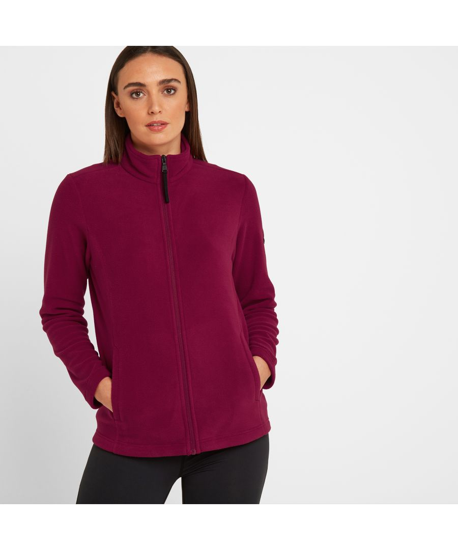 Image for Shire Womens Fleece Jacket Raspberry