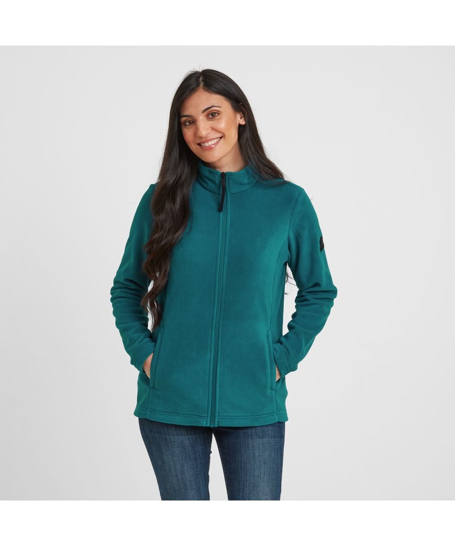 Image for Shire Womens Fleece Jacket Pacific Blue