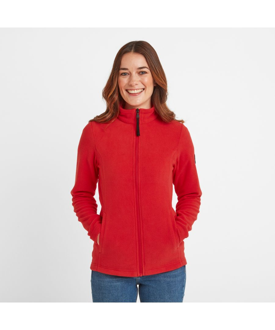 Image for Shire Womens Fleece Jacket Dark Coral