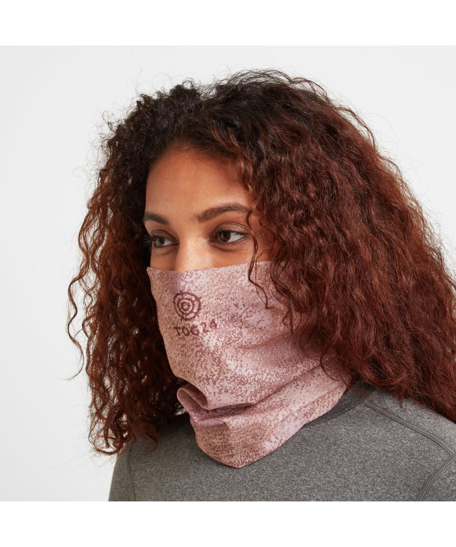 Image for Snood Hedy Faded Pink Snowburst