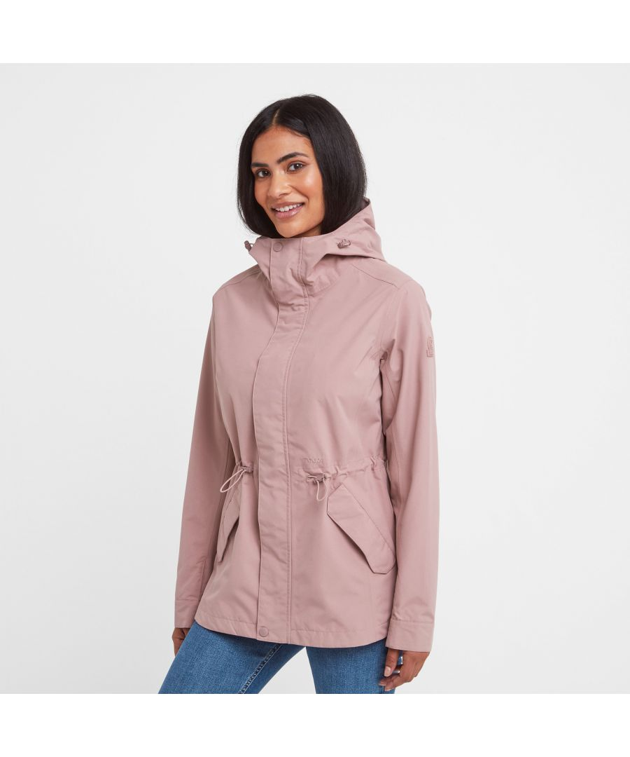 Image for Stutton Womens Waterproof Jacket Faded Pink