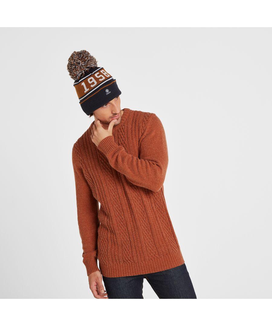 Image for Tebworth Knit Hat Dark Indigo