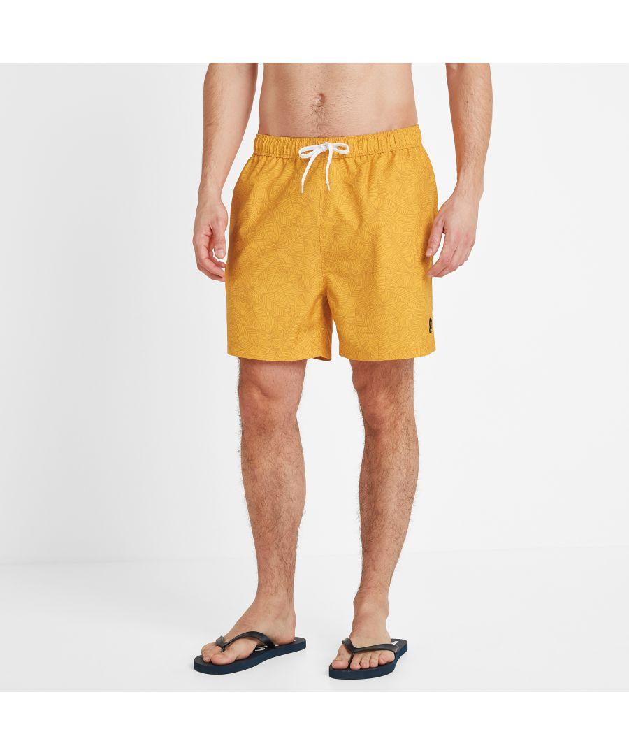 Image for Tyler Mens Swim Short Sun Yellow