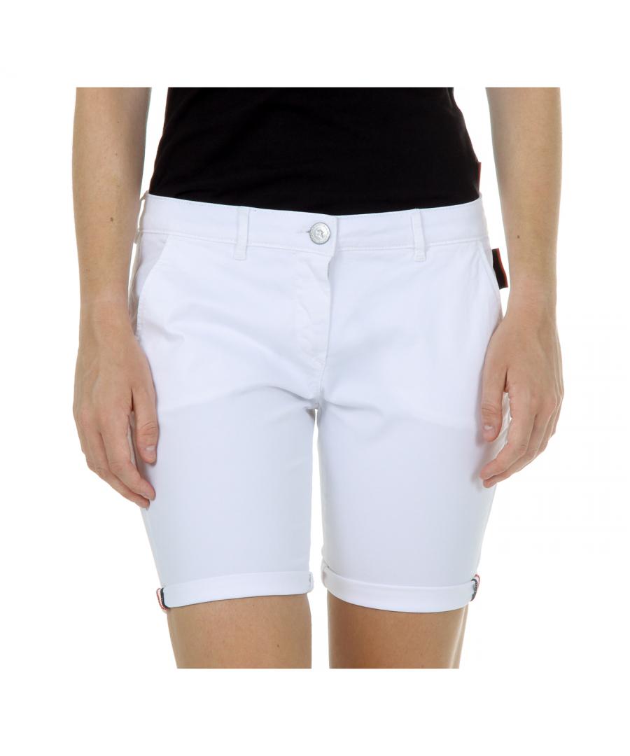 Image for Andrew Charles Womens Shorts White SAFIA