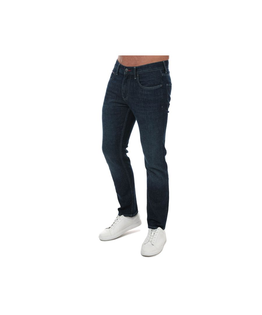 Image for Men's Tommy Hilfiger Denton Straight Fit Jeans in Denim