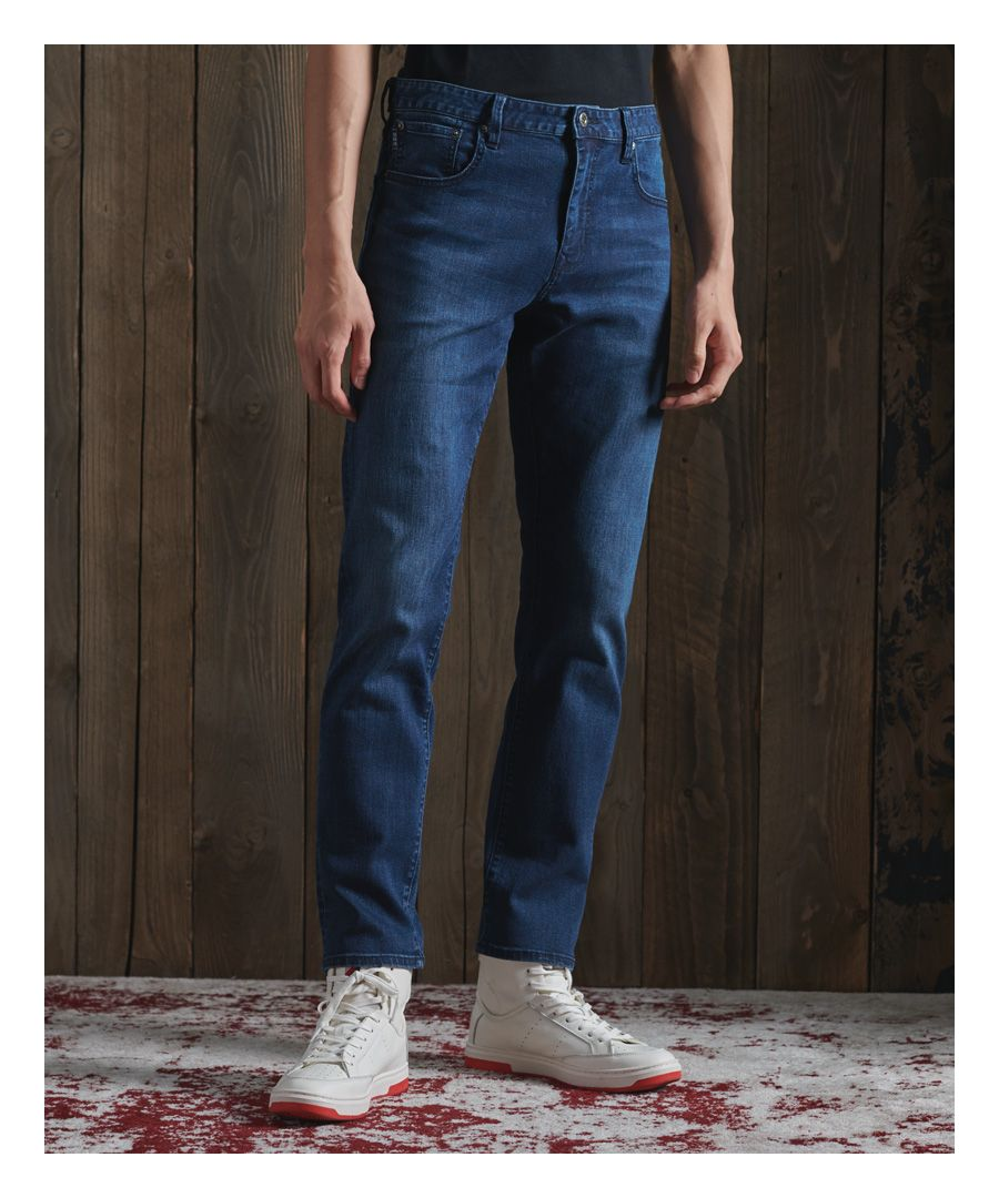 Image for Superdry Tailored Straight Jeans