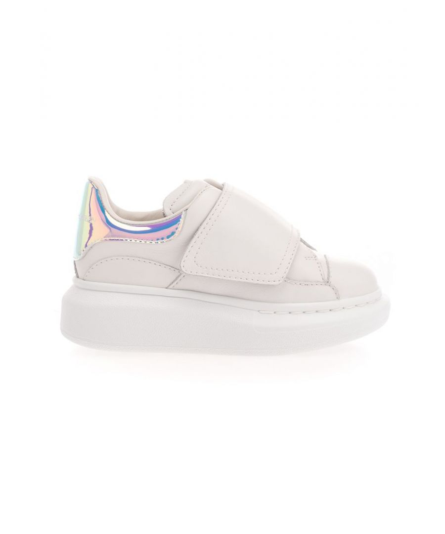 Image for ALEXANDER MCQUEEN GIRLS 612098WHX159035 WHITE POLYESTER SNEAKERS