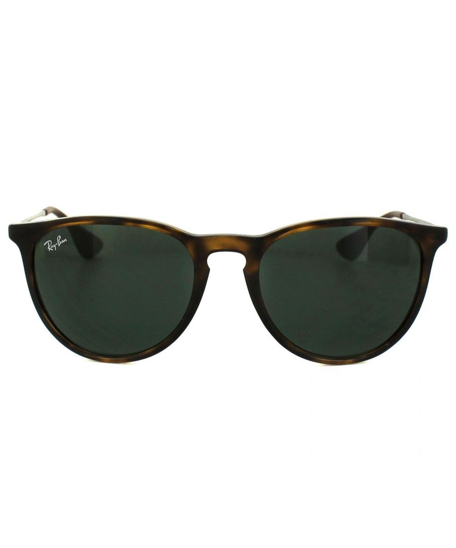Image for Ray-Ban Sunglasses Erika 4171 710/71 Tortoise & Gunmetal Green