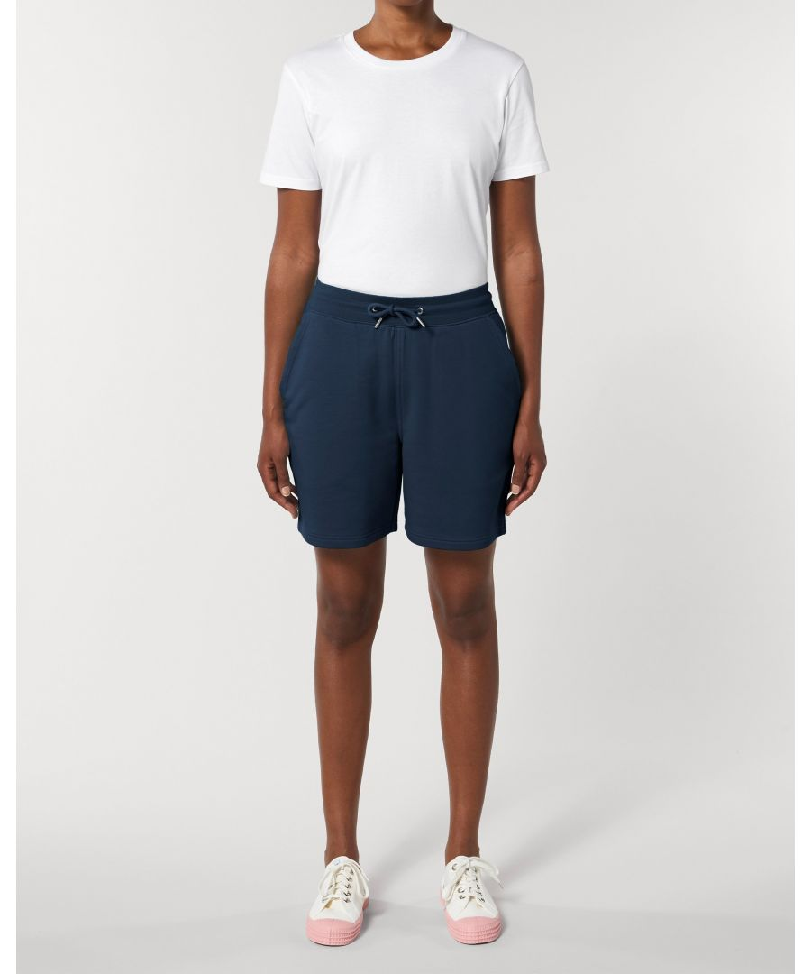 Image for Vayu Unisex Jogger Shorts in Navy