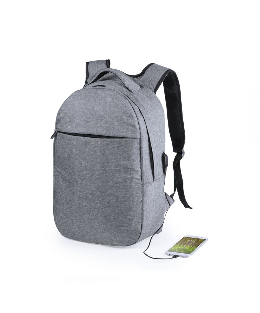 Image for Security backpack with RFID Security and USB Connection Smartek SMTK-6215
