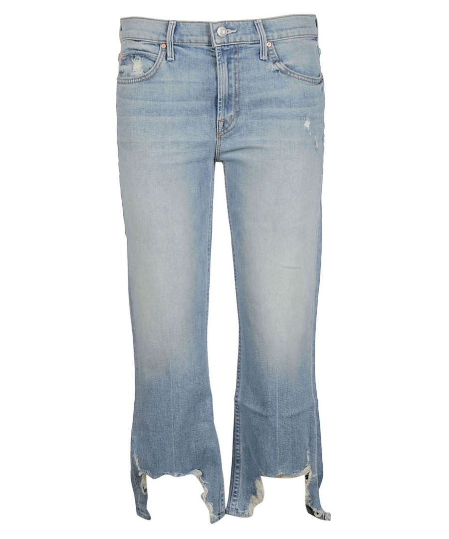 Image for MOTHER WOMEN'S 1122259BIOM LIGHT BLUE COTTON JEANS