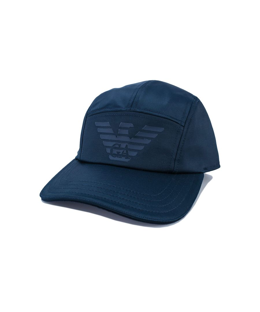 Image for Accessories Armani Eagle Cap in Navy