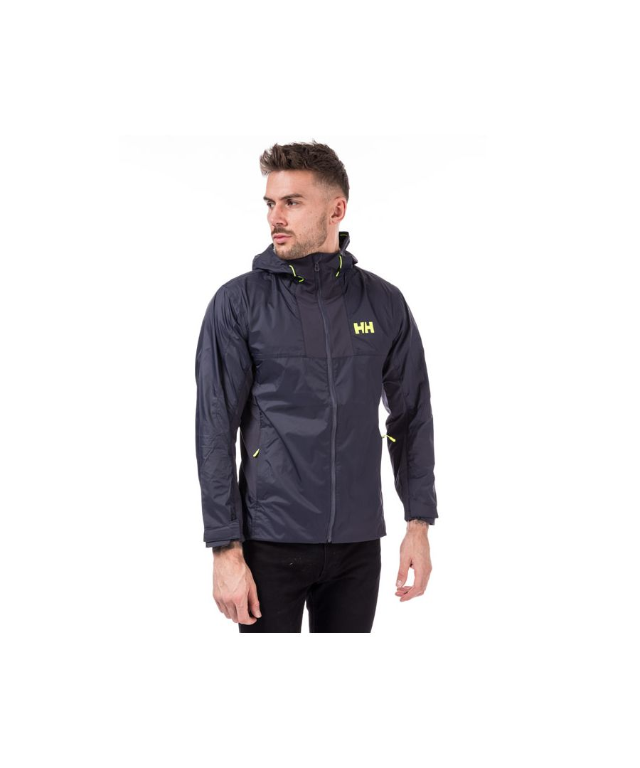 Image for Men's Helly Hansen Vanir Logo Jacket in Navy