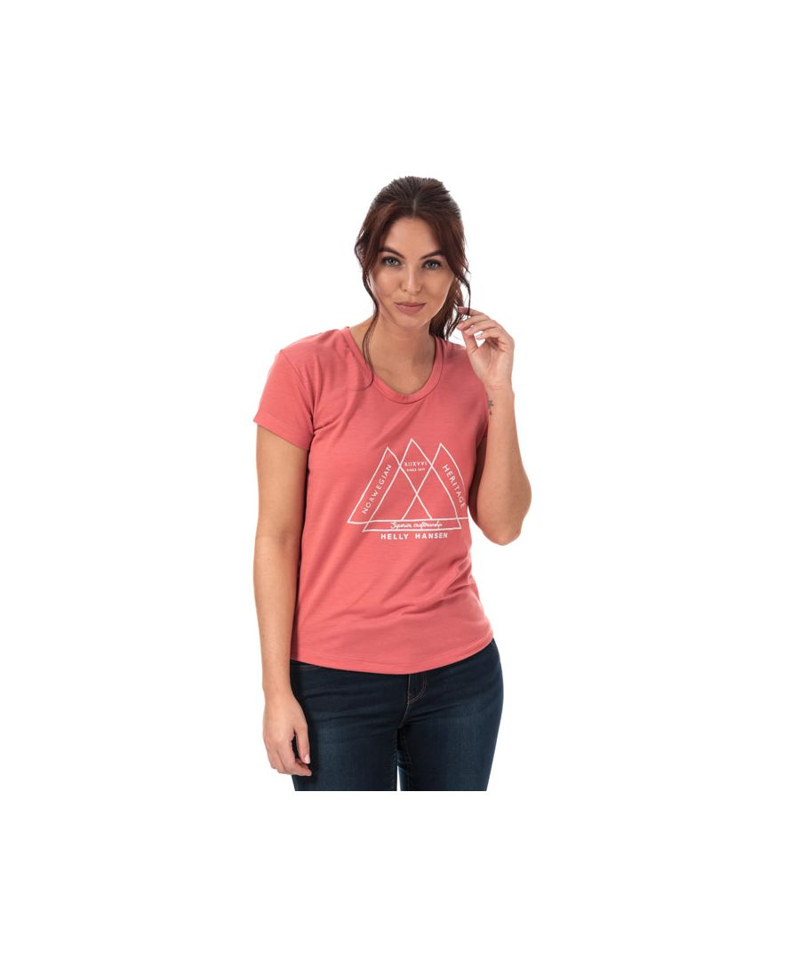 Image for Women's Helly Hansen Une T-Shirt in Rose