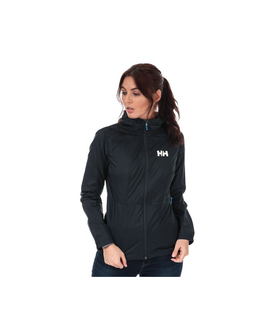 Image for Women's Helly Hansen Vana Windbreaker Jacket in Navy