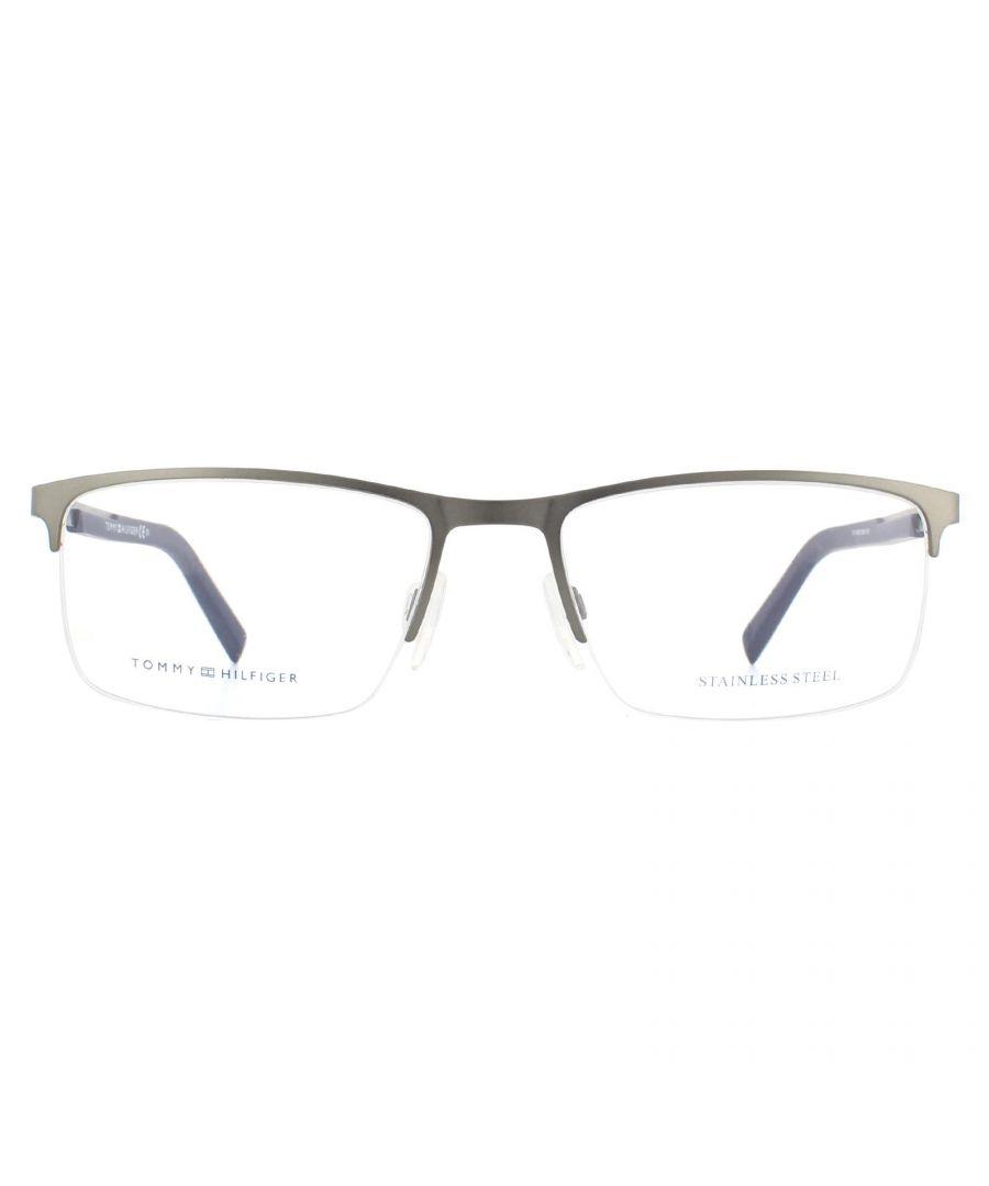 Image for Tommy Hilfiger Glasses Frames TH 1692 R80 Matte Dark Ruthenium