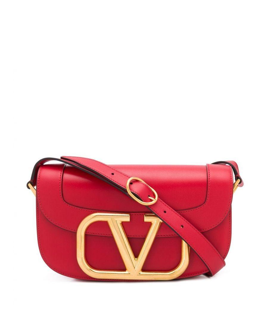 Image for VALENTINO WOMEN'S TW2B0G09ZXLJU5 RED LEATHER SHOULDER BAG