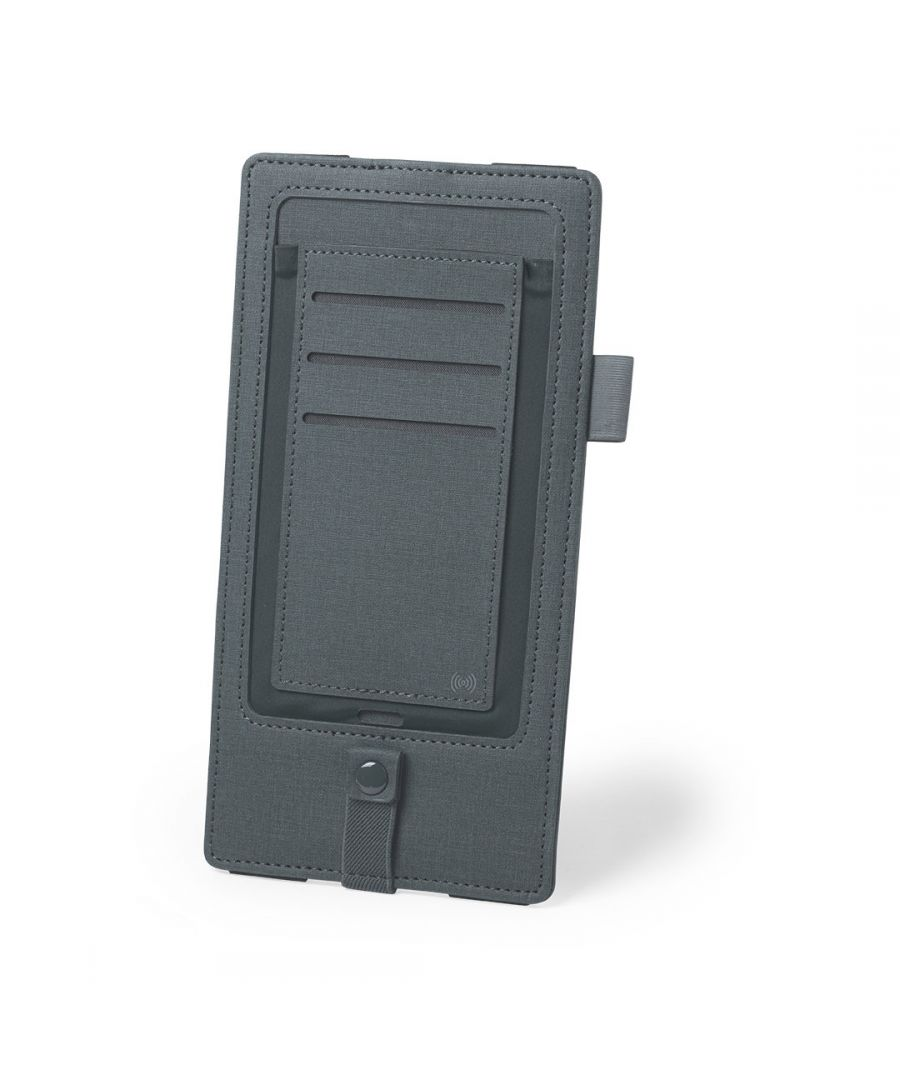 Image for Organizer with Wireless charger Grey