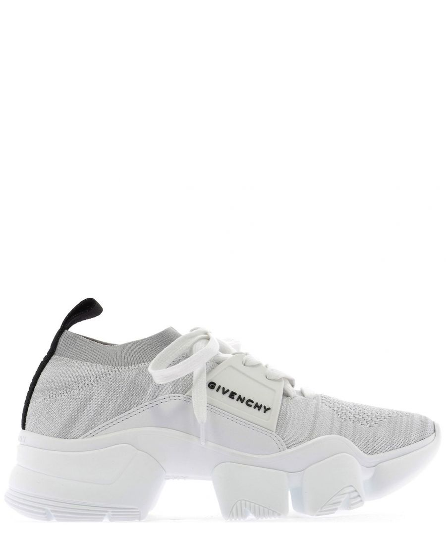 Image for GIVENCHY WOMEN'S BE000ME0DJ100 WHITE SYNTHETIC FIBERS SNEAKERS