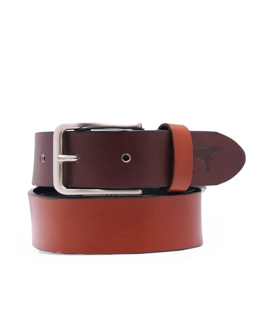 Image for Leather Belt Bicolor for Men Castellanisimos
