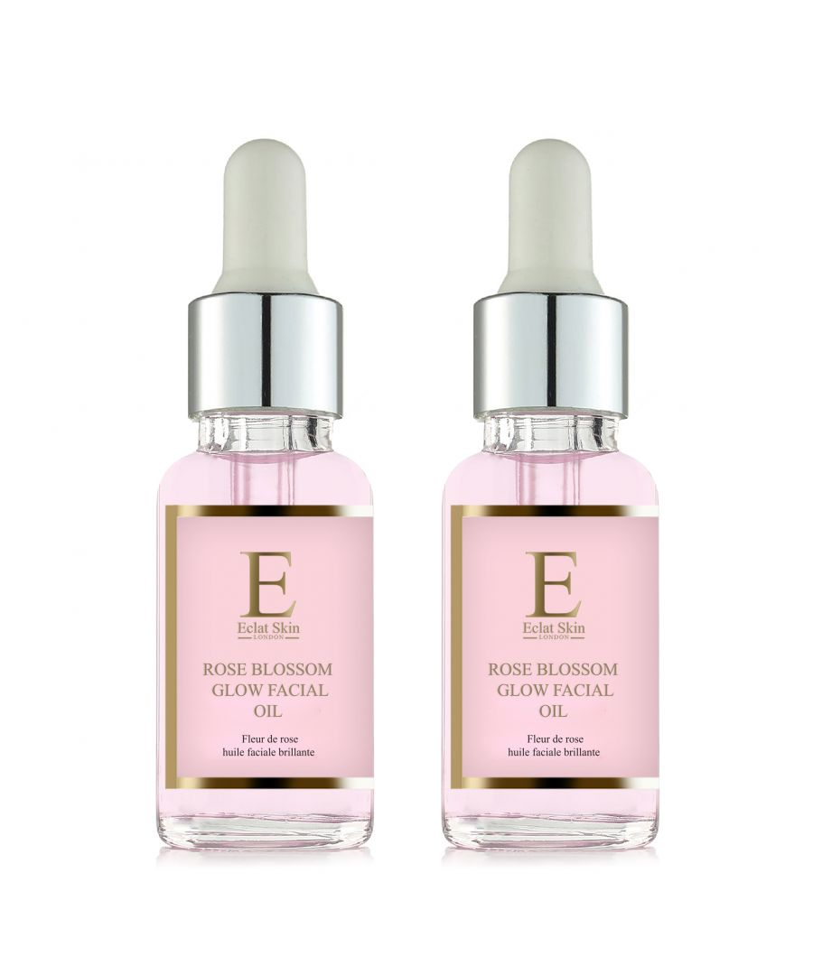 Image for 2x Rose Blossom Glow Facial Oil 30ml