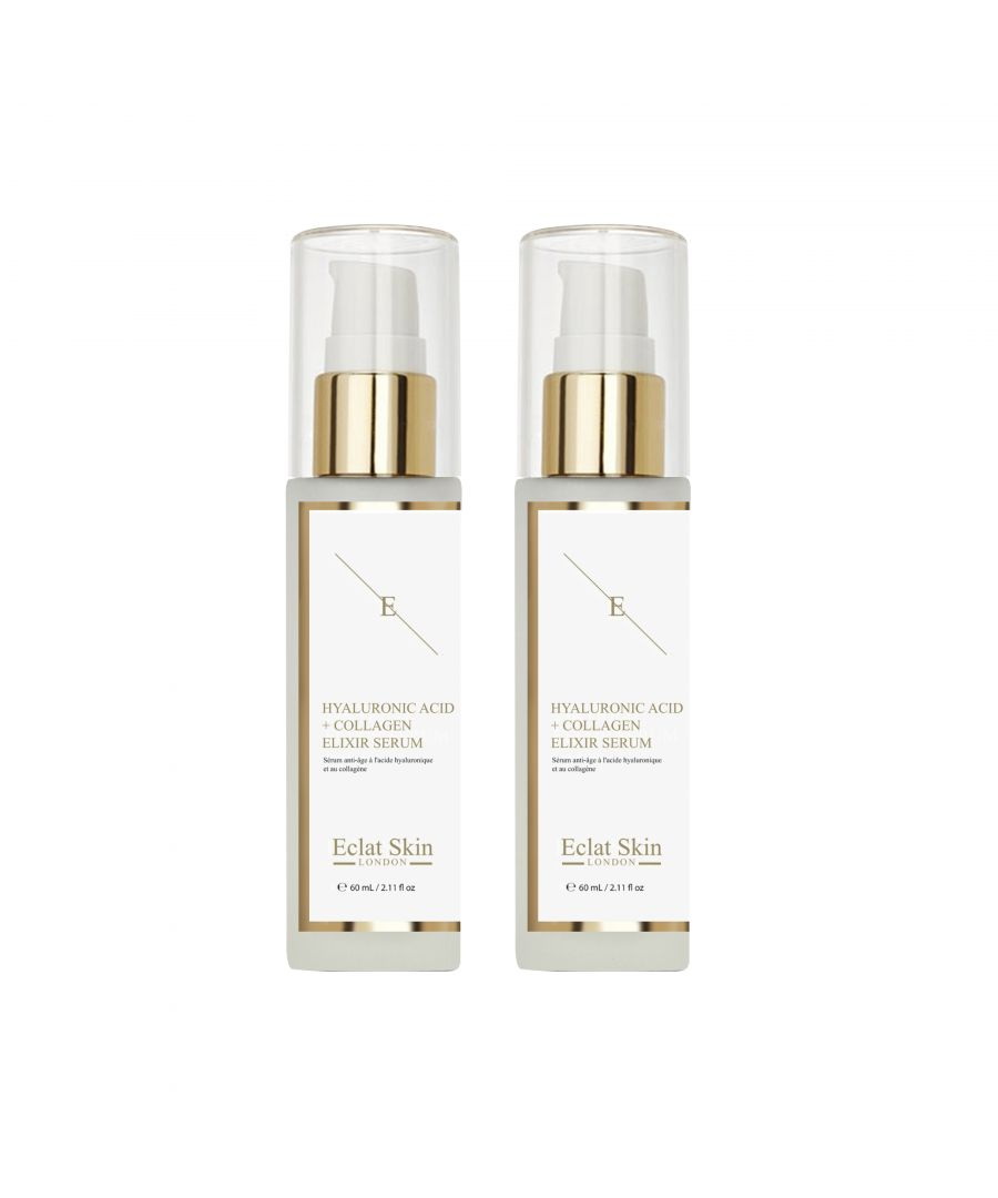 Image for 2x Hyaluronic Acid & Collagen Serum - 60ml