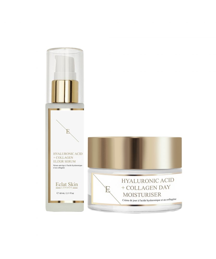 Image for Hyaluronic Acid & Collagen Amino Acids Day Cream + Hyaluronic Acid & Collagen Serum - 60ml