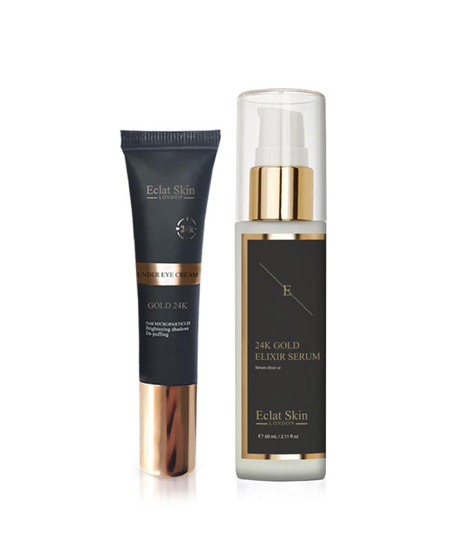 Image for Anti-Wrinkle Elixir Serum 24K Gold + Under Eye Cream 24K Gold