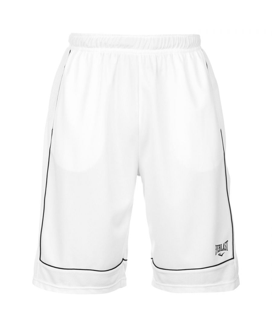 Image for Everlast Mens Basketball Shorts Elasticated Waist Sports Bottoms Short Pants