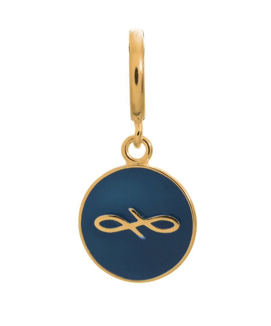 Image for Endless Jewellery Navy Endless Coin Gold Charm