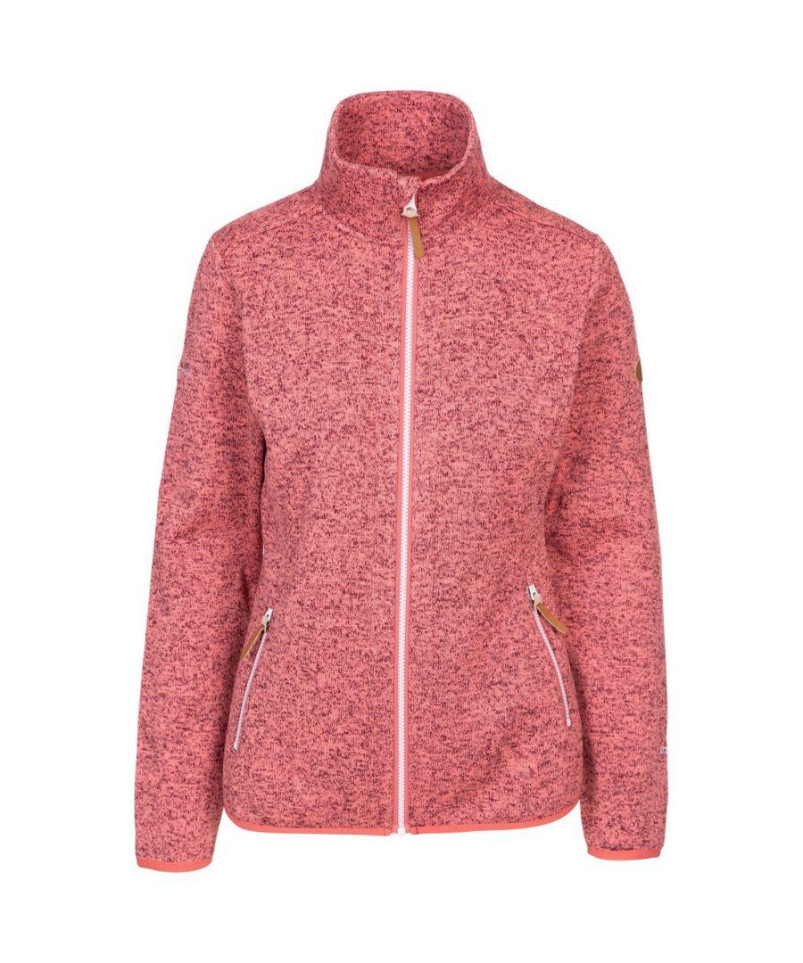 Image for Trespass Womens/Ladies Keepsake Fleece Jacket (Rhubarb Red)