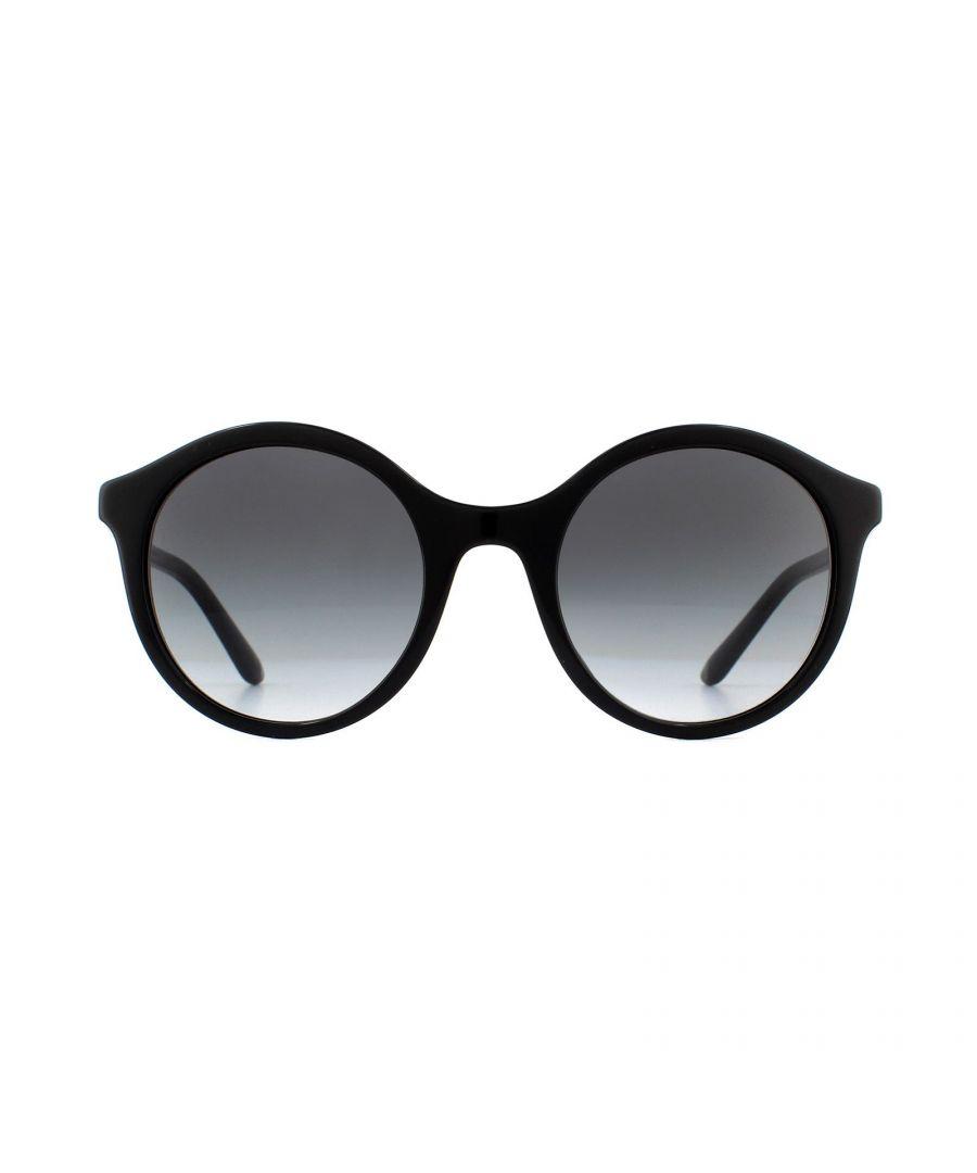 Image for Dolce & Gabbana Sunglasses DG4358 501/8G Black Gold Grey Gradient