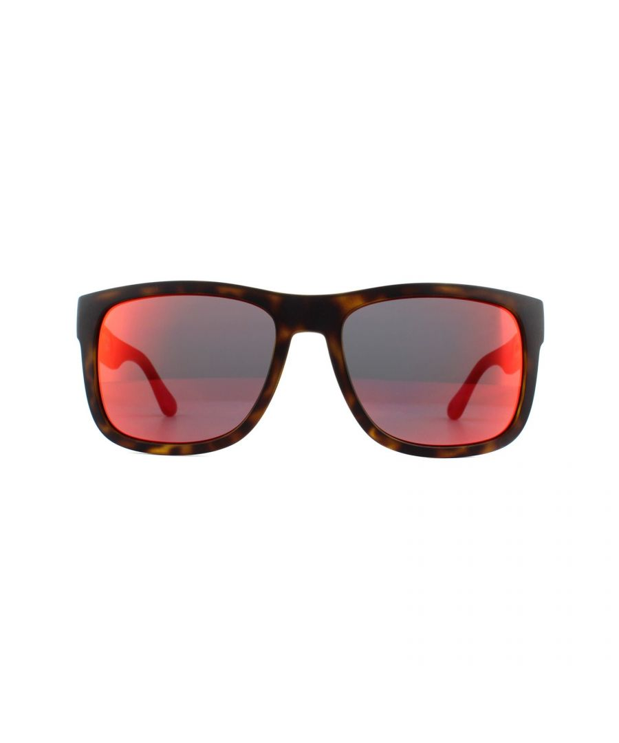 Image for Tommy Hilfiger Sunglasses TH 1556/S O63 UZ Havana Red Red Mirror