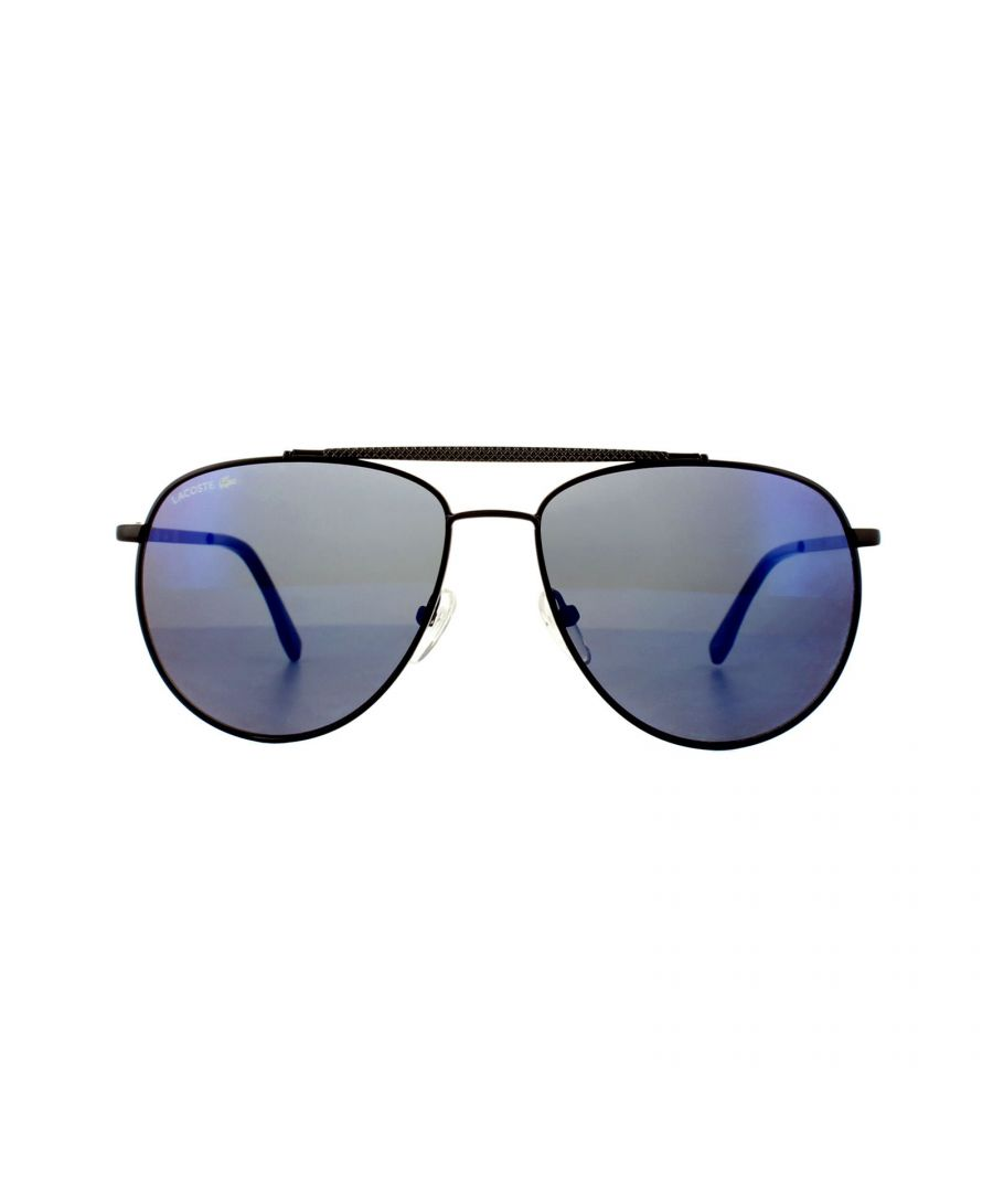 Image for Lacoste Sunglasses L177S 001 Black Blue