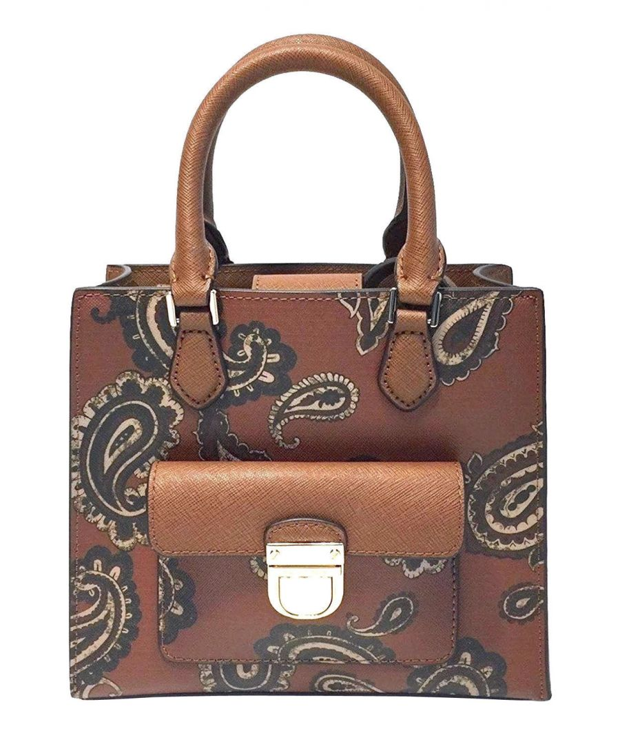 Image for Michael Kors Bridgette Paisley Messenger Bag