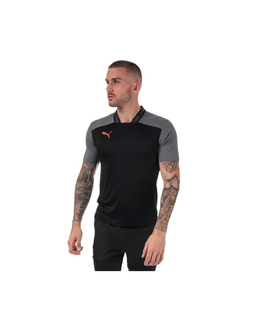 Image for Men's Puma ftblNXT Pro T-Shirt in Black Grey