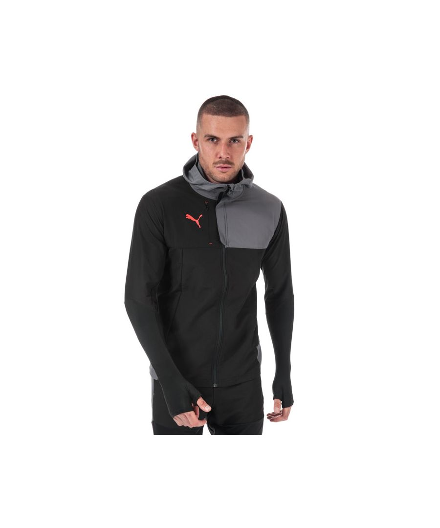 Image for Men's Puma ftblNXT Pro Track Jacket in Black Grey