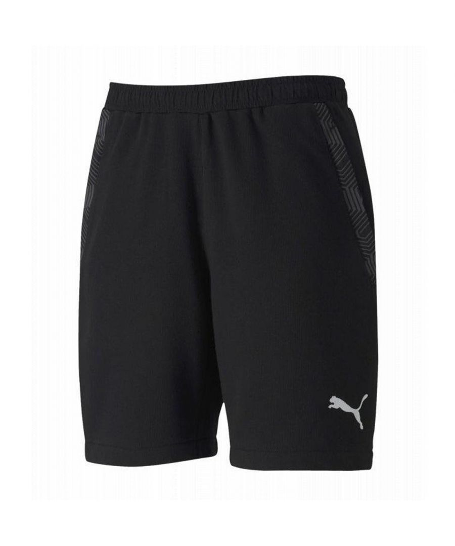 Image for Puma Team Final 21 Casuals Mens Short Black - L