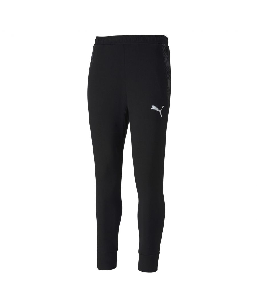 Image for Puma Team Final 21 Casuals Mens Track Pant Black - M