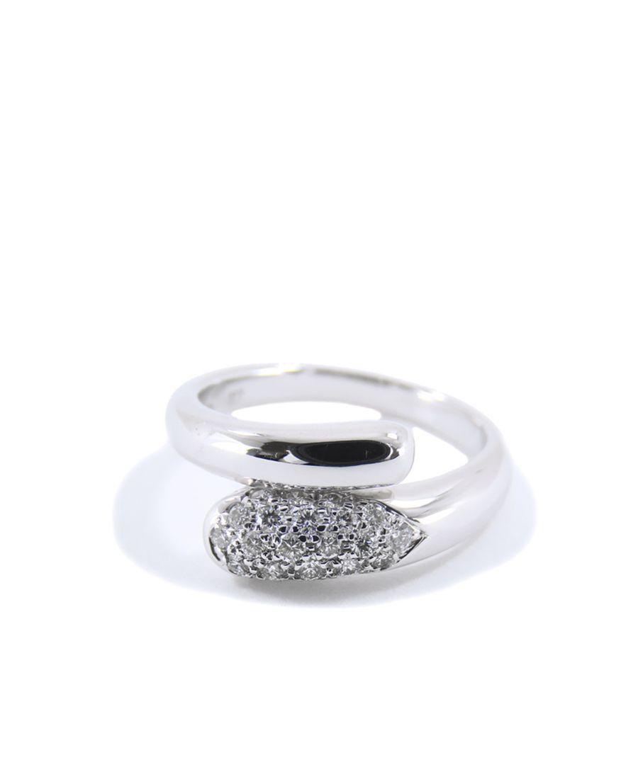 Image for Vintage Bvlgari 18K Astrea Ring Silver