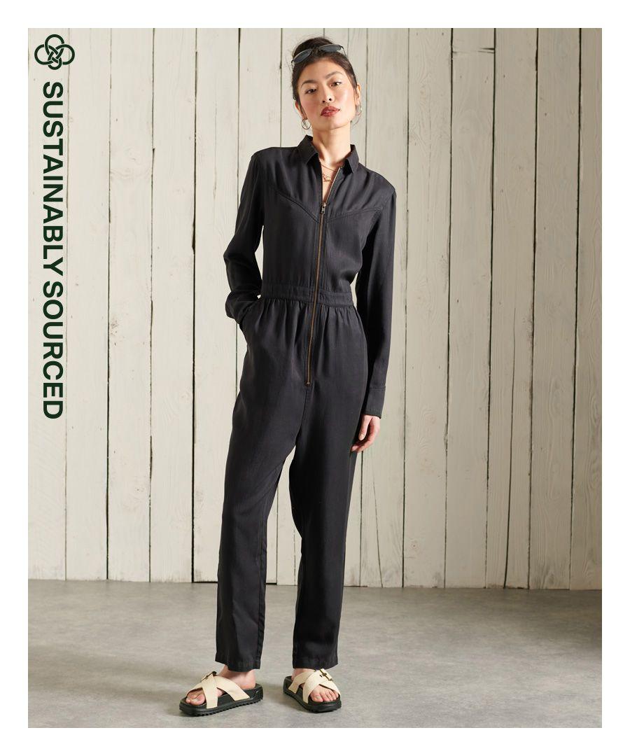 Image for Superdry Tencel Western Jumpsuit