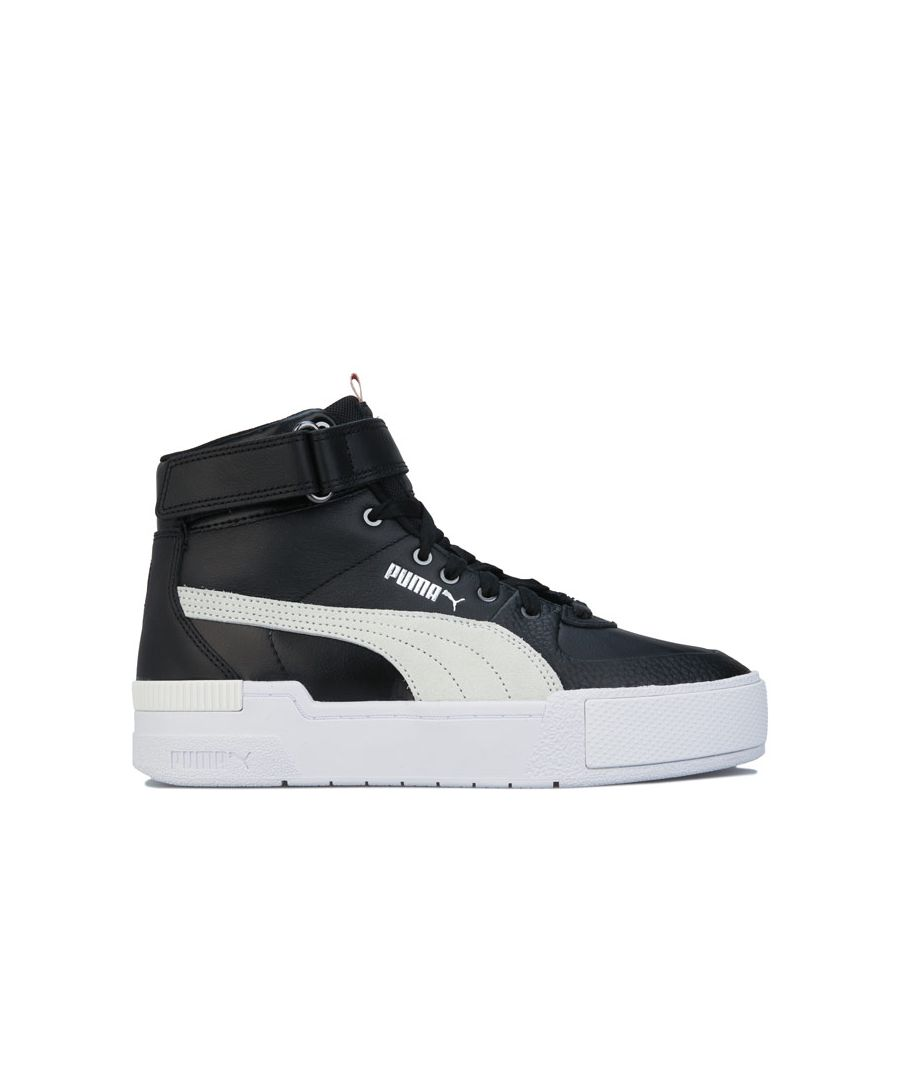 Image for Women's Puma Cali Sport Top Contact Trainers in Black